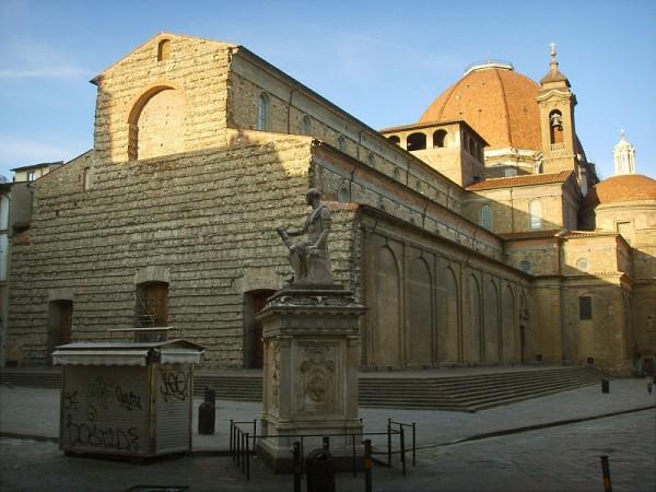 Michaelangelo and San Lorenzo