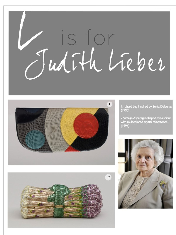 L is for Judith Leiber