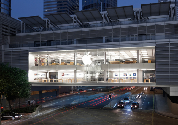 Apple Store Opening HK