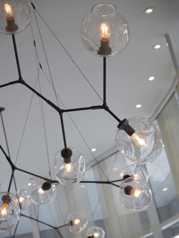 Cool designer….    Lindsey Adelman Lighting