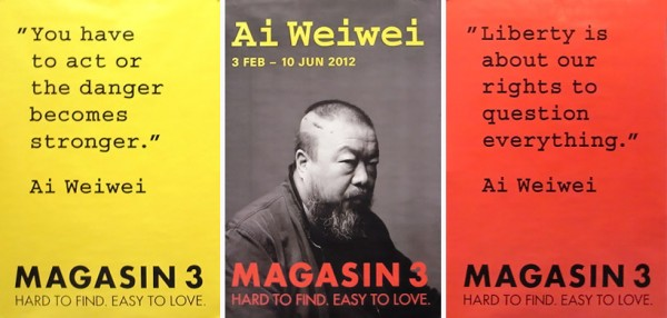 COOL…AI WEI WEI @MAGASIN3