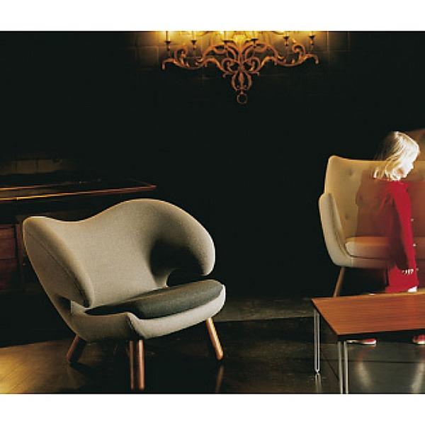Cool design…Pelikan chair by Finn Juhl