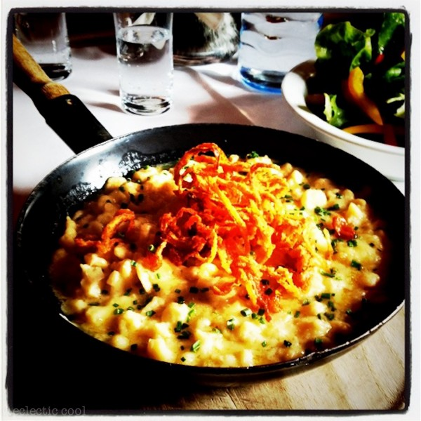 MORE COMFORT FOOD…KASE SPAETZLE