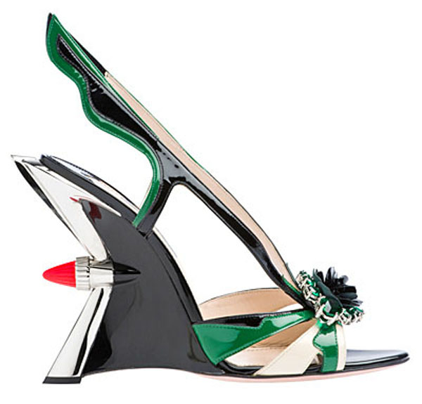 COOL…PRADA 50S INSPIRED SHOES