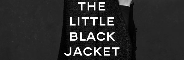 Cool…the little black jacket