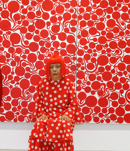 Cool…Yayoi Kusama and Louis Vuitton