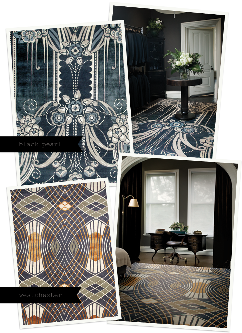 cool…catherine martin rugs inspired by the great gatsby