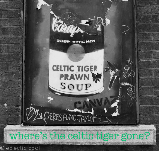 Where's the celtic tiger gone?