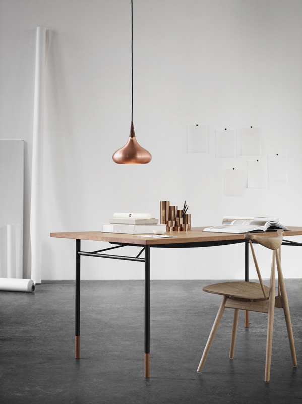 Cool…copper accents