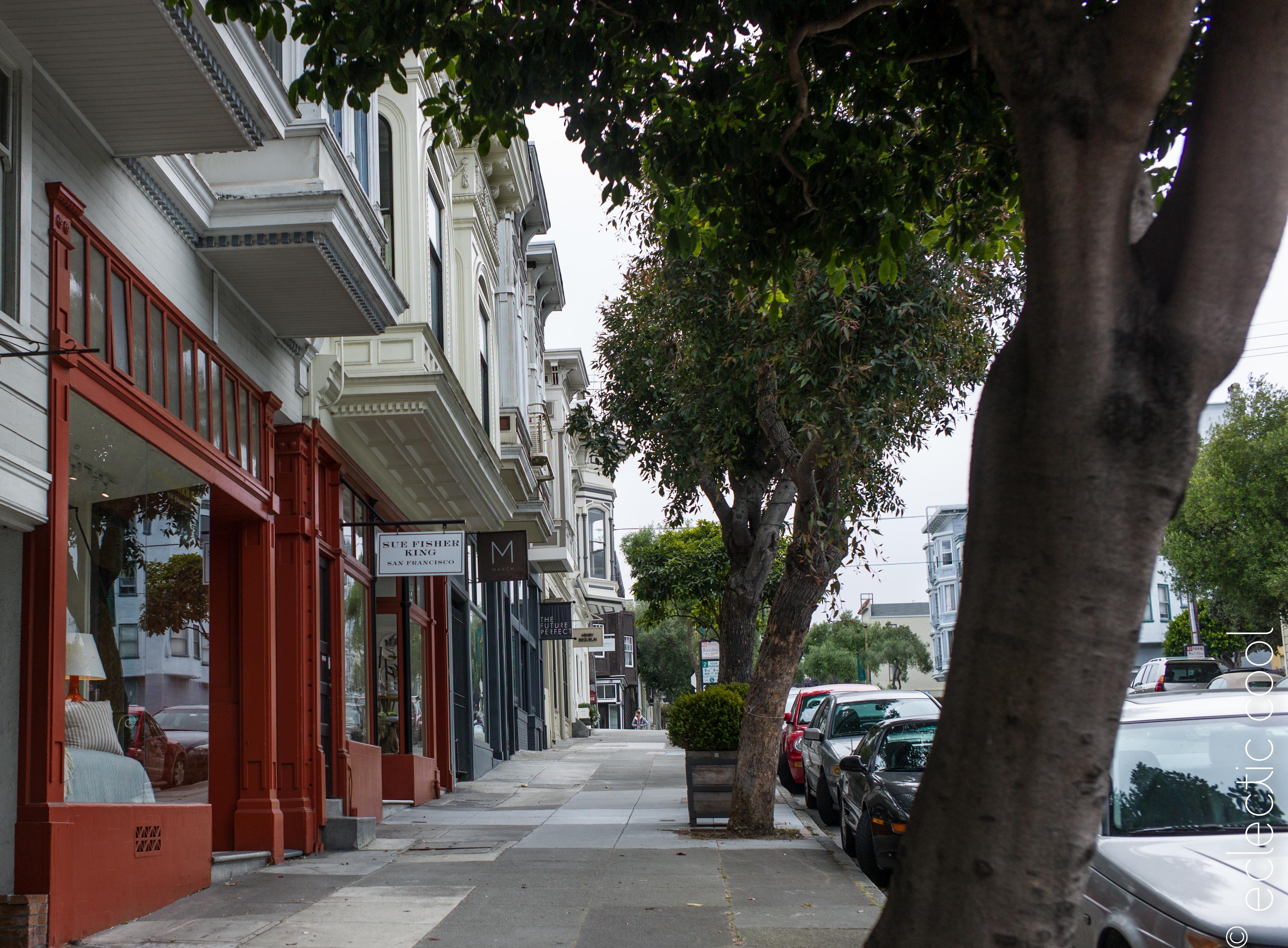Cool…Sacramento Street, SF