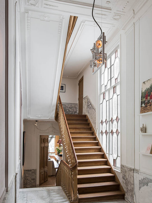 Cool…Herengracht canal apartment