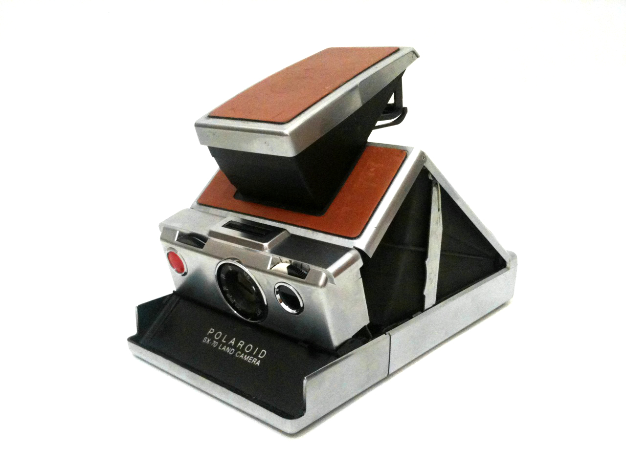 Cool classic…the Polaroid SX-70 land camera