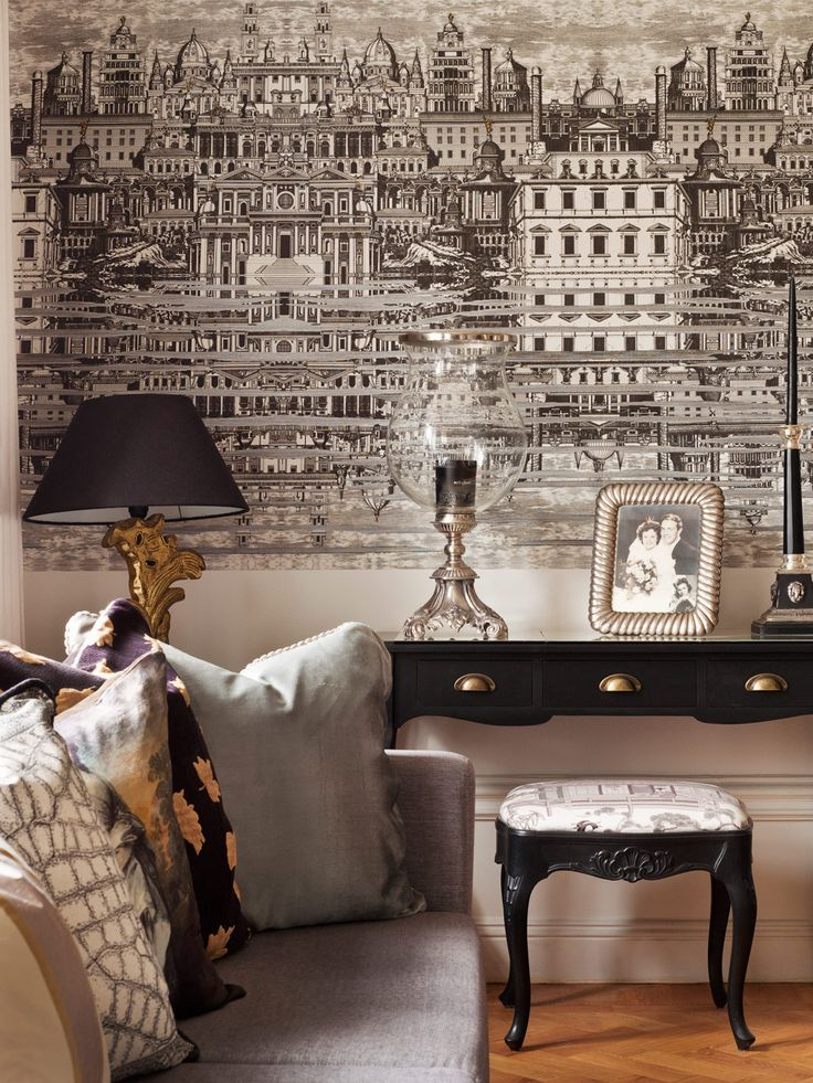 Cool…cole & son wallpaper