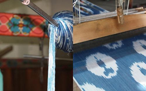 Cool…ikat fabrics