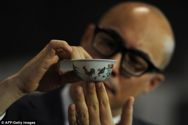 Cool…chinese ming cup collecting