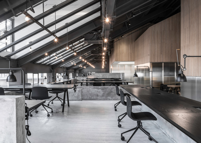 cool…flamingo office by neri+hu
